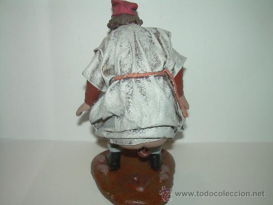 Figuras de Belén: ANTIGUA FIGURA DE TERRACOTA.....CAGANE - CAGANER - CAGON. - Foto 4 - 30519838