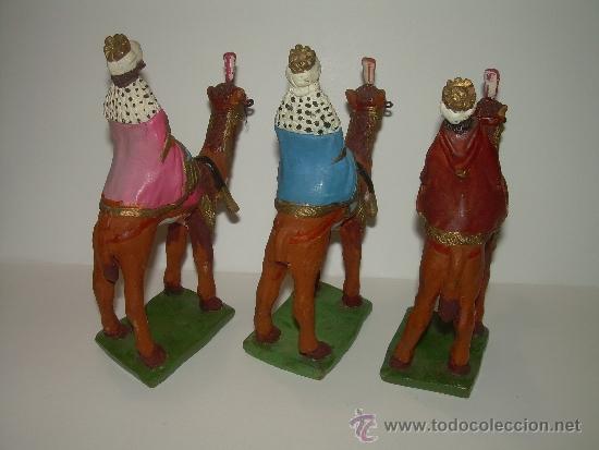 Figuras de Belén: ANTIGUAS Y BONITAS FIGURAS DE TERRACOTA. - Foto 7 - 30904755