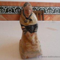 Figuras de Belén: FIGURA DE BELEN ANTIGUAS EN BARRO O TERRACOTA. Lote 32112543