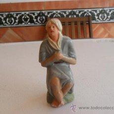 Figuras de Belén: FIGURA DE BELEN ANTIGUAS EN BARRO O TERRACOTA. Lote 32112916