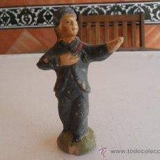 Figuras de Belén: FIGURA DE BELEN ANTIGUAS EN BARRO O TERRACOTA. Lote 32113044