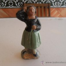 Figuras de Belén: FIGURA DE BELEN ANTIGUAS EN BARRO O TERRACOTA. Lote 32113503