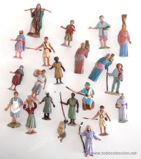 Super lote figuras belen plastico a os 60 comprar for Amazon figuras belen