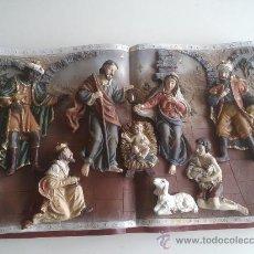 Figuras de Belén: BELEN (MISTERIO COMPLETO). Lote 41125381