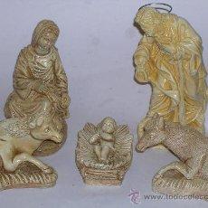 Figuras de Belén: FIGURAS DE BELEN - PESEBRE DE ESCAYOLA. Lote 33883158