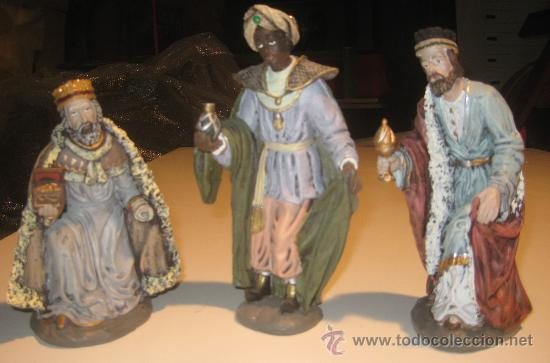 a558d902203 Juego de 3 reyes magos resina 21 cm. - Vendido en Venta Directa ...