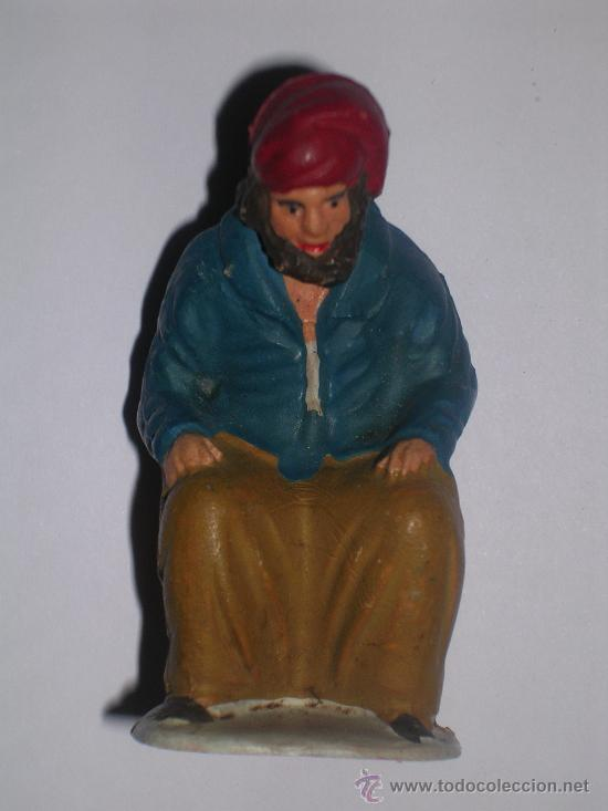 Figuras de Belén: FIGURA BELEN O PESEBRE - CAGANER - - Foto 2 - 54208734