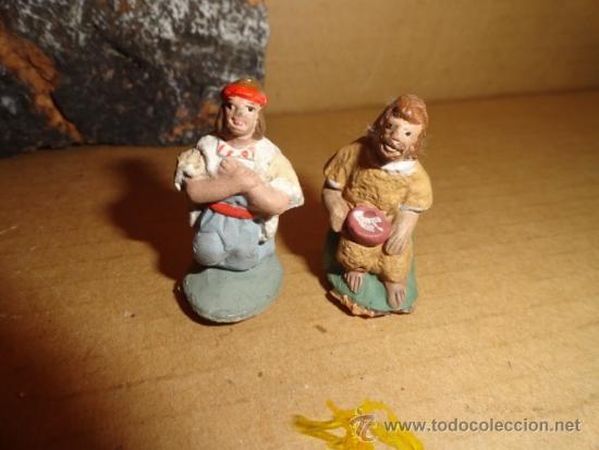 Figuras de Belén: LOTE FIGURAS PESEBRE NACIMIENTO - Foto 7 - 37478685