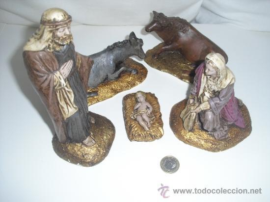 ANTIGUAS FIGURAS DE PORTAL DE BELEN,NACIMIENTO,PESEBRE, BELENISMO (Coleccionismo - Figuras de Belén)