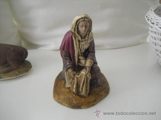 Figuras de Belén: ANTIGUAS FIGURAS DE PORTAL DE BELEN,NACIMIENTO,PESEBRE, BELENISMO - Foto 2 - 38289240