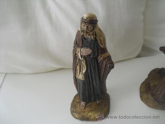 Figuras de Belén: ANTIGUAS FIGURAS DE PORTAL DE BELEN,NACIMIENTO,PESEBRE, BELENISMO - Foto 4 - 38289240