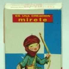 Figuras de Belén: CAJA VACÍA FIGURA BELÉN NACIMIENTO MIRETE AÑOS 70. Lote 38857427
