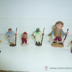 Figuras de Belén: LOTE DE FIGURAS DE BELÉN DE PLASTICO. (VÉR FOTOS). Lote 39048889