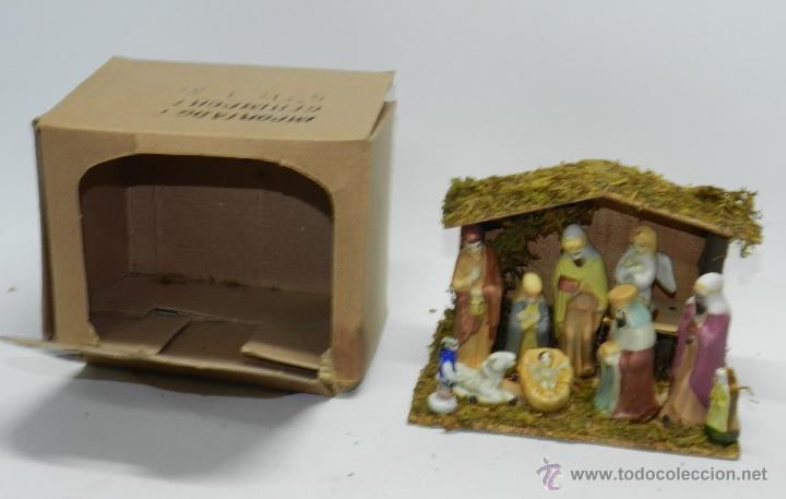 Figuras de Belén: MISTERIO DE PORCELANA O CERAMICA, BELEN, LA FIGURA MAS GRANDE MIDE 7,5 CMS. - Foto 3 - 39871060