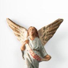 Figuras de Belén: ANGEL DE TERRACOTA, FIGURA DE PESEBRE O BELEN. Lote 39911639