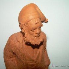 Figuras de Belén: BONITA FIGURA DE TERRACOTA......GRAN CALIDAD ARTISTICA....... Lote 39921563