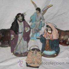 Figuras de Belén: BELÉN O NACIMIENTO, MISTERIO DE RESINA, DE GALÁN. Lote 40055253