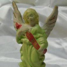 Figuras de Belén: FIGURA DE BELEN -PESEBRE - ANGEL DE BISCUIT - CERAMICA . Lote 40029637