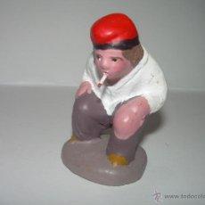 Figuras de Belén: FIGURA DE TERRACOTA......CAGANER. Lote 40064080