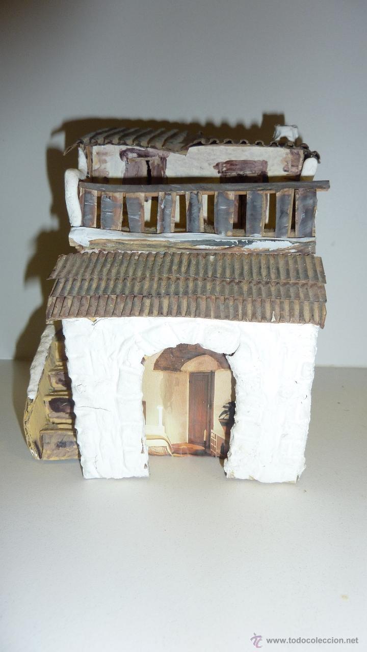 Casa para pesebre belen en carton artesana comprar for Hacer casas online