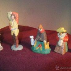 Figuras 5 Belén Pesebre. Nacimiento terracota pastor