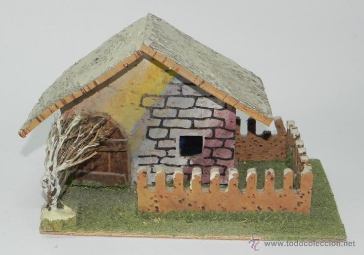 casa de corcho para belen, navidad, pesebre, mi - Comprar Figuras de ...