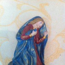 Figuras de Belén: BELEN (MISTERIO) ESCAYOLA POLICROMADA. Lote 40350745
