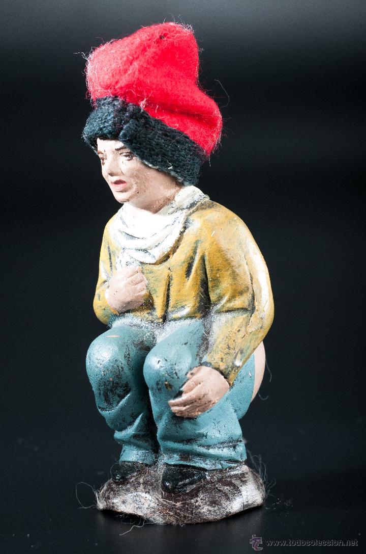 Figuras de Belén: FIGURA- CAGANER- DE PESEBRE O BELEN - Foto 3 - 40355227