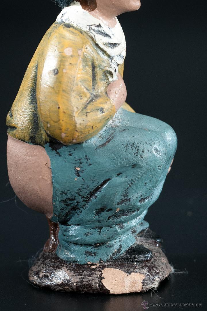 Figuras de Belén: FIGURA- CAGANER- DE PESEBRE O BELEN - Foto 5 - 40355227