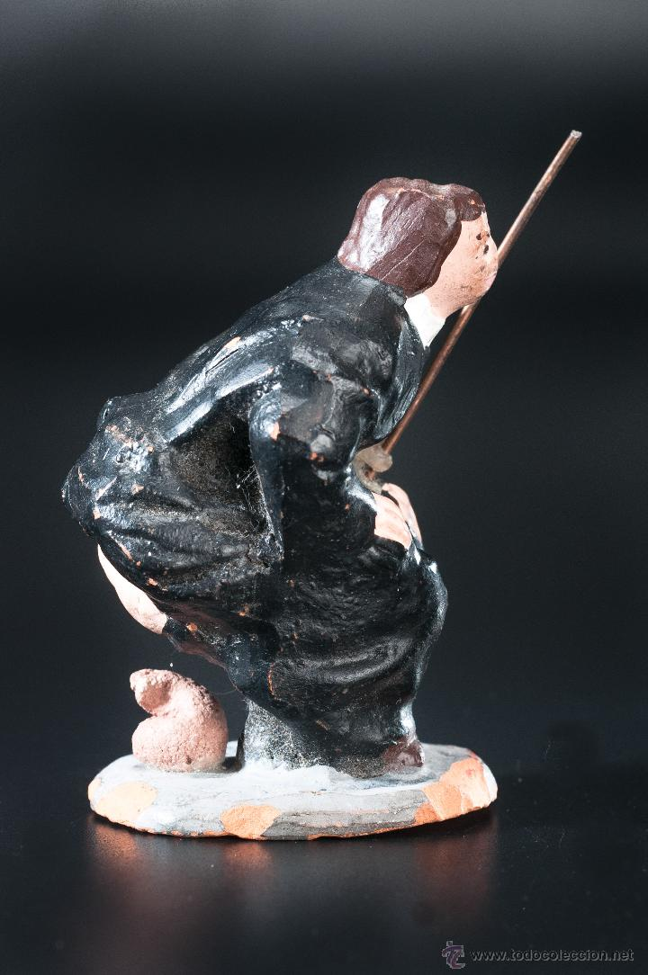 Figuras de Belén: FIGURA- CAGANER- DE PESEBRE O BELEN - Foto 3 - 40355469