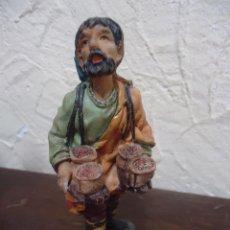 Figuras de Belén: PASTOR VENDEDOR DE MIEL. DE RESINA. PASTOR BELÉN. Lote 40514132