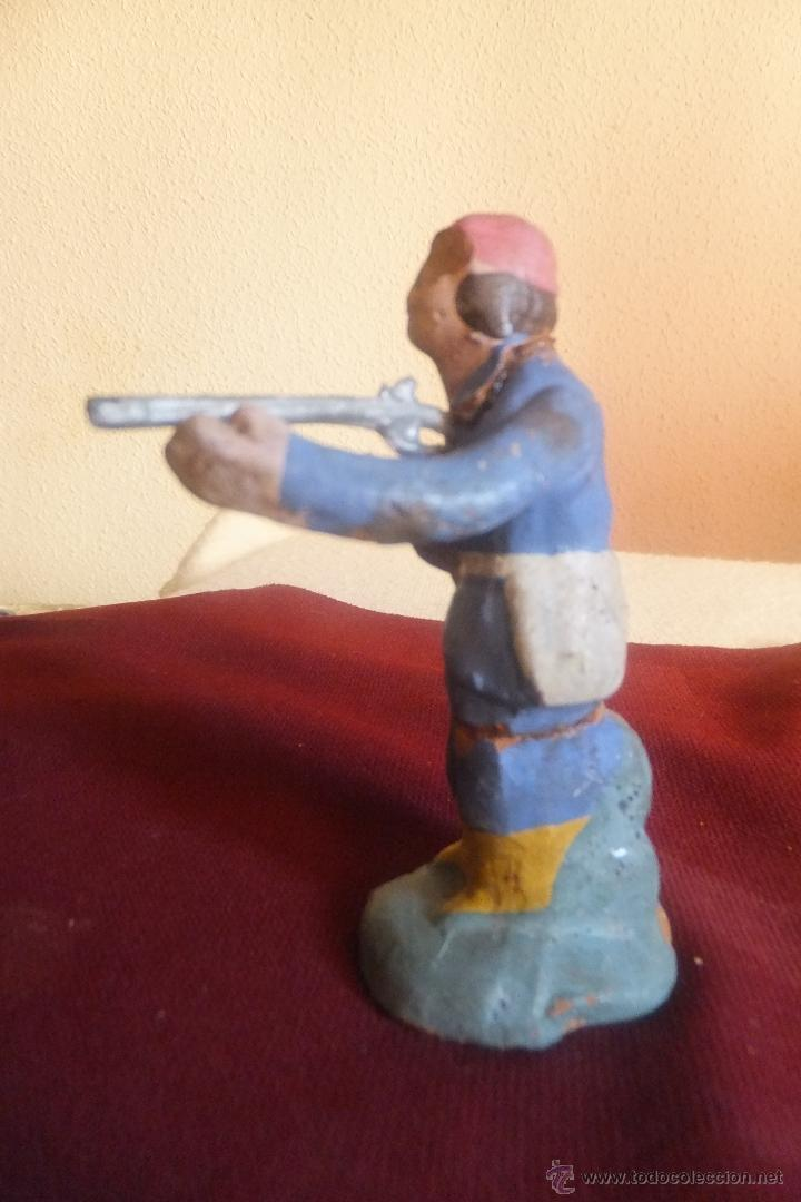 Figuras de Belén: Figura 8 Belén Pesebre. Nacimiento terracota, pastor pastora cazador - Foto 6 - 40549512