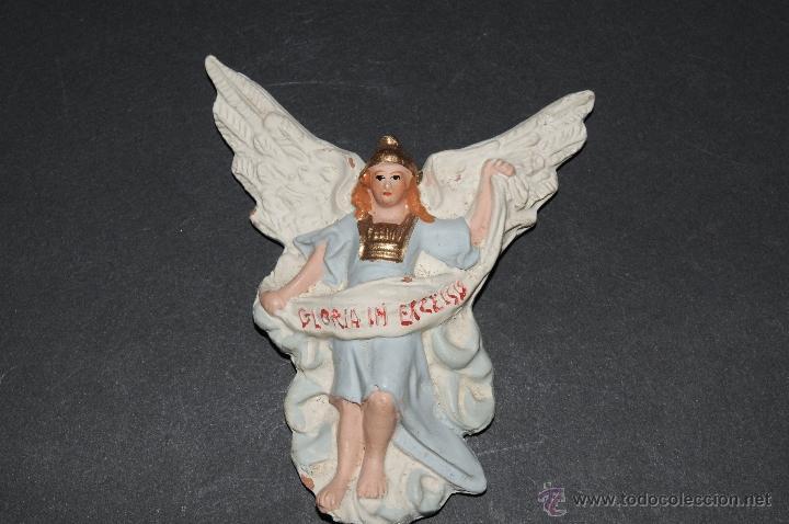 Figuras de Belén: FIGURA DE BELEN O PESEBRE EN TERRACOTA, ANGEL - Foto 2 - 40570126