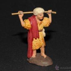Figurines pour Crèches de Noël: FIGURA DE BELEN O PESEBRE EN TERRACOTA, PASTOR. Lote 40968388