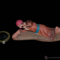 Figuras de Belén: FIGURA BELÉN BELENISMO, BARRO O TERRACOTA, CASTELLS O SIMILAR, AÑOS 40-50.. Lote 41157794