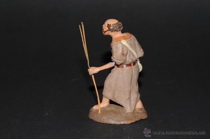 Figuras de Belén: FIGURA DE BELEN O PESEBRE EN TERRACOTA, HOMBRE CON MORRAL-ZURRON - Foto 4 - 41485349