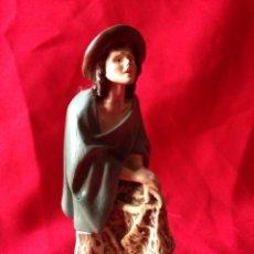 Figuras de Belén: FIGURA DE BELEN O NACIMIENTO DE OLOT ESTUCO. Lote 42025717