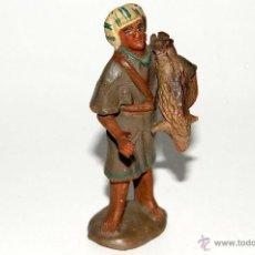 Figuras de Belén: FIGURA DE BELEN O PESEBRE EN TERRACOTA, HOMBRE CON CORDERO. Lote 42349078