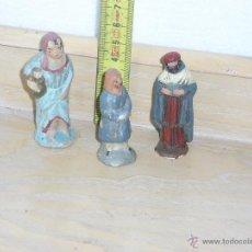 Figuras de Belén: FIGURAS DE BELEN DE TERRACOTA ** AÑOS 40 **. Lote 43775049