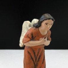 Figuras de Belén: FIGURA DE BELEN DE TERRACOTA ANGEL ARTESANIA SERRANO MURCIA ARTESANAL BARRO. Lote 44377107