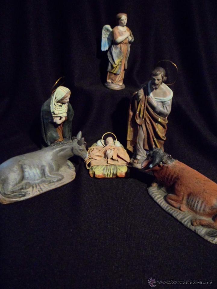 Precioso y elegante nacimiento bel n artesania comprar for Amazon figuras belen