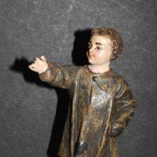 Figuras de Belén: EXCELENTE FIGURA DE NIÑO DE BELEN O PESEBRE EN TERRACOTA. Lote 45356344