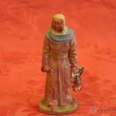 Figuras de Belén: FIGURA DE BELÉN. BARRO.. Lote 45719879