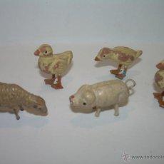 Figuras de Belén: ANTIGUAS FIGURAS DE TERRACOTA.. Lote 45984852