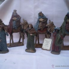 Figuras de Belén: REYES MAGOS DE J.FERNANDEZ. Lote 46029123