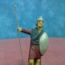 Figuras de Belén: SOLDADO ROMANO ¿SERRANO MURCIA? TERRACOTA. Lote 46057651