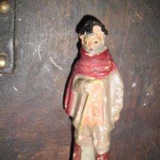 Figuras de Belén: ANTIGUA FIGURA BELEN BARRO TERRACOTA PASTOR . Lote 46150996