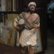 Figuras de Belén: FIGURA DE PASTOR EN TERRACOTA DE BELEN. . Lote 46355551