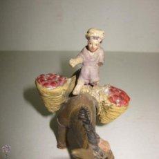 Figuras de Belén: FIGURA BELEN ANTIGUA - VER FOTOS Y MEDIDAS . Lote 46652963