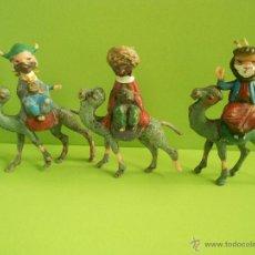 Figuras de Belén: FIGURA DE BELEN INFANTIL , CABEZONES ,REYES MAGOS. Lote 46661556